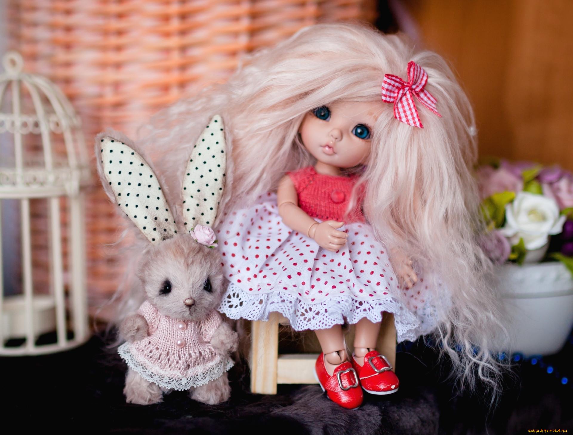 большей долей кукла зайчик картинки ней